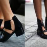 Los Zapatos de este Invierno: Los Botines CUT-OUT