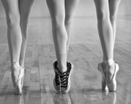 Converses ballet