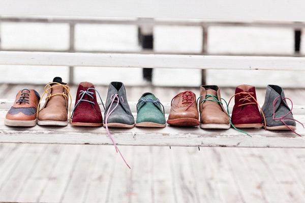 Cordones de colores para zapatos