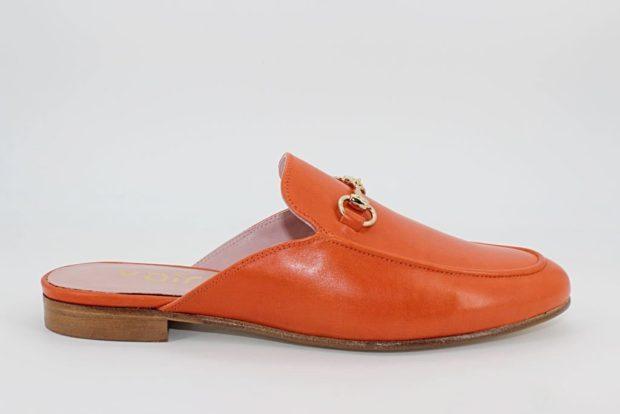 Zapatos Mules Rojo