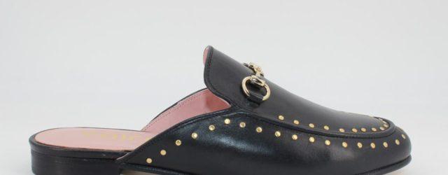 Zapatos Mules Negro