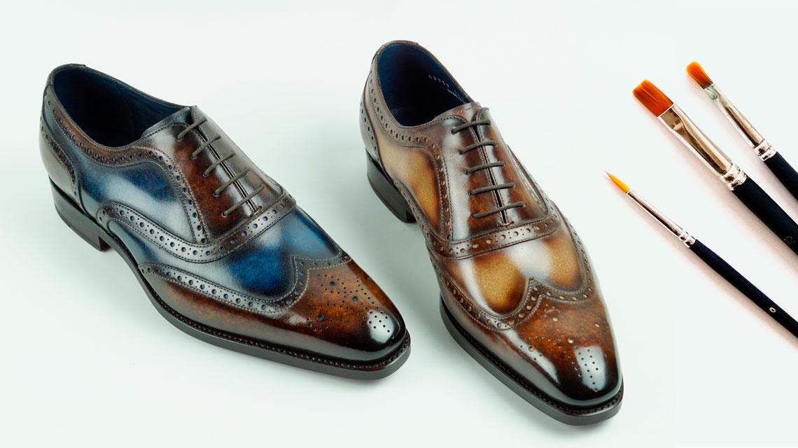Mens Patina Shoes