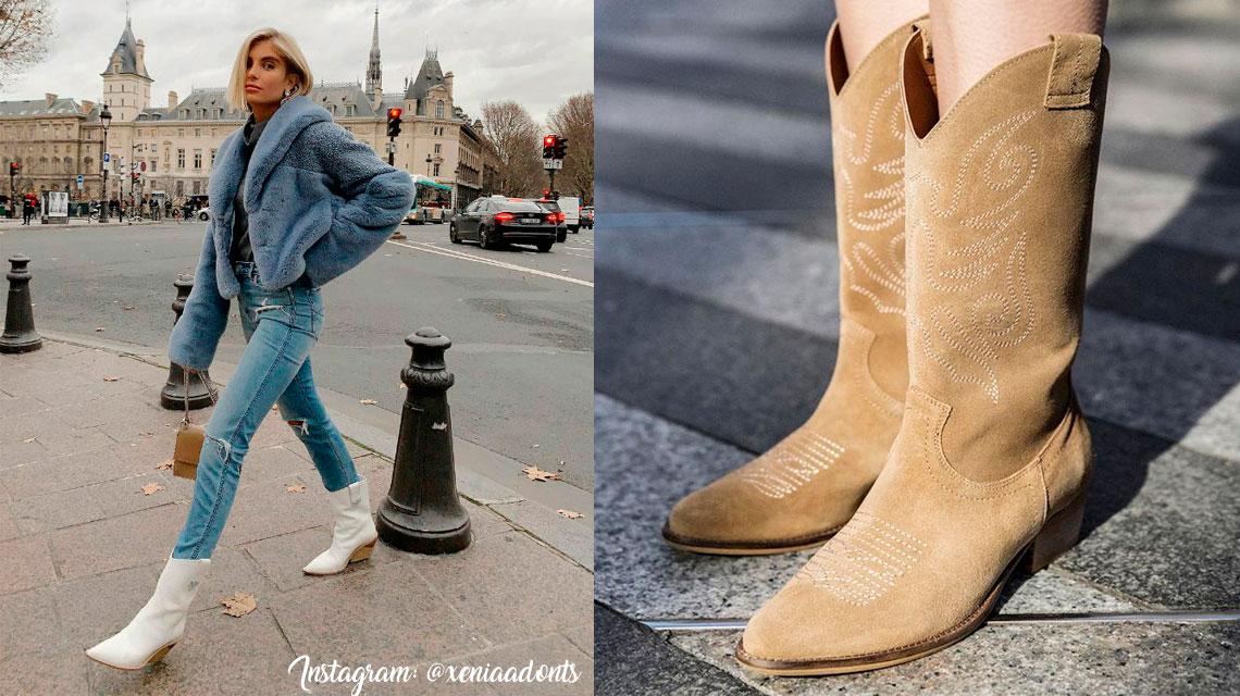 Botas Cowboy Mujer