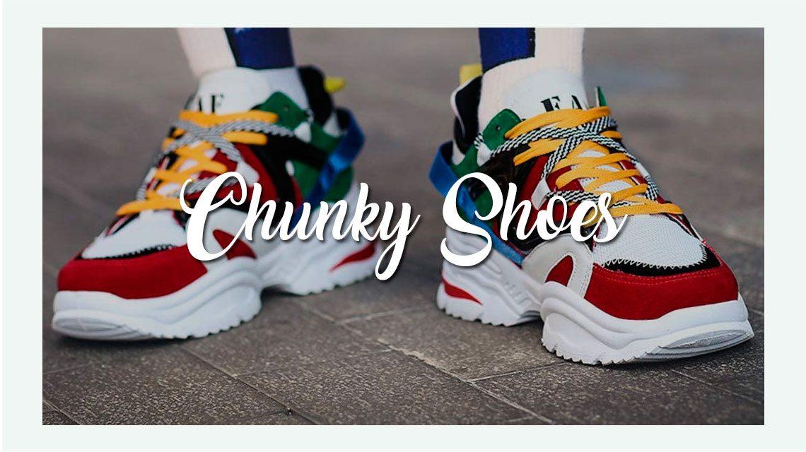 Chunky Shoes para hombre